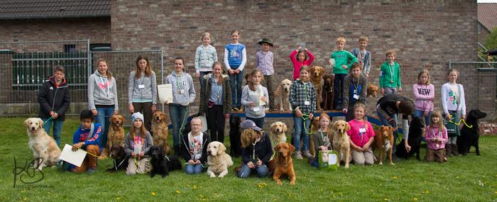 Kinder-Fun-Workingtest 2015 in Kleve